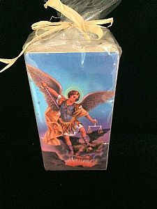 Archangel Michael Candle Holder