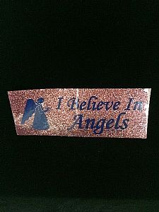 I believe in Angels - Bumper Sticker