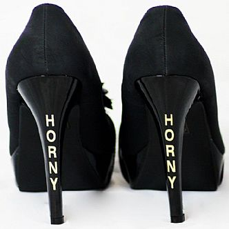 HORNY - Shoe Transfer